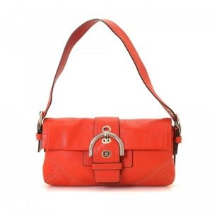 COACH buckle flap shoulder bag